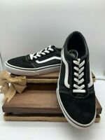 Vans Off The Wall SK8 Low Youth Shoes Size 7 US Black/White Old Skool 500714