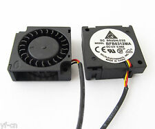 1pc Delta BFB0312MA 30x30x10mm 3010 12V 0.08A DC Brushless Blower Fan 3wire NEW