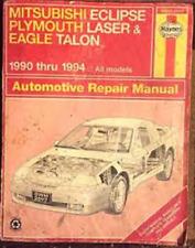 Haynes Repair Manual ~ Fits: Mitsubishi Eclipse and Eagle 1990-1994