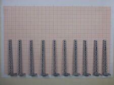 10 x Gittermast für Quertragwerke TT DDR Plasticart passend für Hobbex