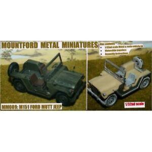 Mountford Metal Miniatures - MM089 Ford Mutt Jeep (Kit)