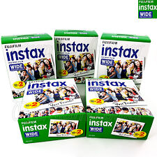 100 PCS Fujifilm INSTAX WIDE Instant film picture for camera 100/200/210/300 BOX