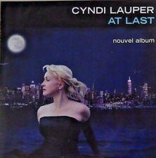 CYNDI LAUPER : AT LAST - [ FRENCH PROMO CD SINGLE ]