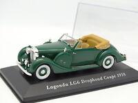 Ixo Presse 1/43 - Lagonda LG6 Drophead Coupe 1938