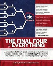 The Final Four of Everything - Good  - Paperback
