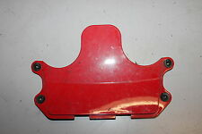 1996 KAWASAKI NINJA ZX6e ZX600E RED CENTER FRONT UPPER INNER FAIRING CENTER TRIM