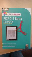 PDF 2 E Book Konverter Office Perfekt / CD Computer/ Netzwerk/ Software