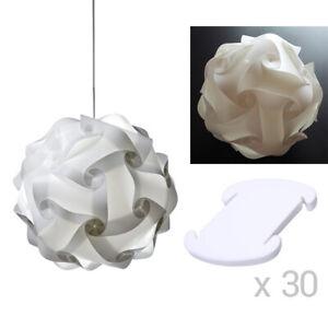 IQ DIY Puzzle Lampshade Lamp Modern Ceiling Pendant Light Hanging Lighting Decor