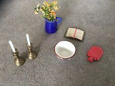 Miniature Dolls House miscellaneous Items X6
