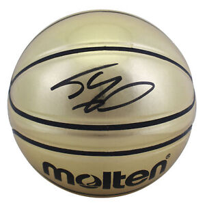 Lakers Shaquille O'Neal Authentic Signed Molten Basketball Autographed BAS