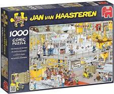 Pre-owned Jumbo Jan van Haasteren The Chocolate Factory 1000 Piece Jigsaw Puzzle