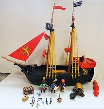 PLAYMOBIL 4424 Bateau pirates avec 3 pirates, canon et accessoires