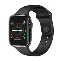 Smartwatch F18 Bluetooth Uhr Curved Display Android iOS Samsung iPhone Huawei IP