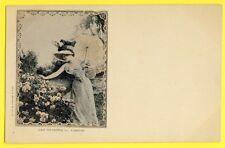 cpa Dos 1900 Edition du Panorama, PARIS LES SAISONS La LIBELLULE Beau Decolleté