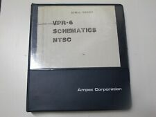 Ampex VPR-6 Schematics NTSC Manual