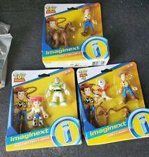 Toy Story 4 Fisher Price fugure 2 packs lot of 3 Woody Jessie Buzz Bullseye