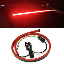 Auto LED Rear Windshield High Mount 3rd 4th Brake Tail Sequential Strip Lights