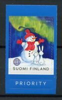 Finland Winter Wonders Stamps 2020 MNH Snowman Rabbits Seasons 1v S/A Set