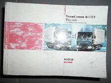 Iveco EUROCARGO Tector : notice d'entretien 2004