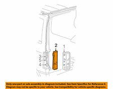 1998-2005 GMC Safari Tail Light Housing Rear Driver Side New OEM 15589173