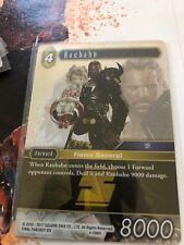 Final Fantasy TCG Opus Hero Heroic Raubahn  4-096H FOIL MINT Sqaure Enix
