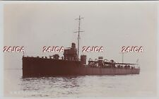 "Royal Navy Real Photo RPPC. HMS ""Goshawk"" Destroyer. Battle of Jutland. c 1912"