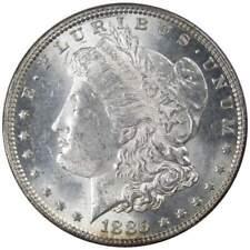 1885 Morgan Dollar Choice About Uncirculated 90% Silver $1 US Coin Collectible
