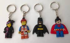 Lot of 4 Lego Movie Keyrings - Perfect for loot bags & party favours