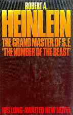 The Number of the Beast by Robert A. Heinlein-First Edition First Print HC w/DJ