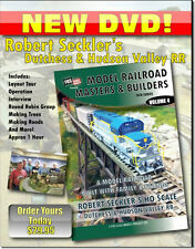 Robert Seckler's Dutchess & Hudson Valley RR in HO scale Layout Tour DVD NEW! HD