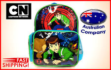 Cartoon Backpack BEN 10 NEW colourful trendy shoulder bag school kids #4081