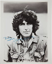 GEORGE HARRISON - SIGNED 10X8 PHOTO, GREAT STUDIO IMAGE, LOOKS GREAT FRAMED