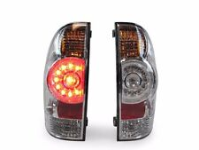 TOYOTA TACOMA 2004-2015 LED TAIL LIGHTS TAILLIGHTS REAR LAMPS CHROME PAIR SET