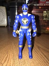 2003 Bandai POWER RANGERS Dino Thunder BLUE TALKING THUNDER Ranger action figure
