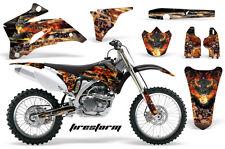 AMR Racing Yamaha YZ 250F/450F Graphic Number Plate Kit Bike Decal MX 06-09 FS K