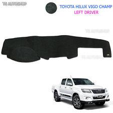 Left Driver Dash Mat Dashmat Carpet Cover Toyota Hilux Vigo Champ 2005-2014