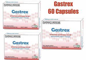 Gastrex 2mg 65 Capsules (Loperamide) Imodium Gastro Stop  **60 plus 5 caps free*
