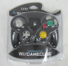 Brand New CirKa Video Game Controller for Nintendo Wii / GameCube, Black