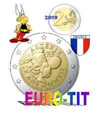 FRANCE   ASTERIX   2  EURO COMMEMORATIVE     2019    NEUVES    2019   disponible