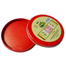 Water Paint Red Round Date Seal Stamp Pad Inkpad Ink Office Accessories-Supplies