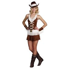 Cowgirl Costume Teen Junior Rodeo Hat Sexy Dress Dreamgirl Cowboy S L