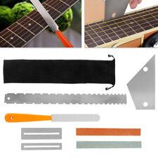 Guitar Luthier Tool Kit Set Fret Crowning File Rocker Fingerboard Protector