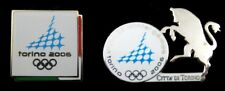 Turin 2006 Winter Olympic Games Official Logo Set of 2 Olympic Pins