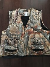 OUTFITTERS RIDGE Mens Hunting Vest, 2XL, CAMO, Mesh Back, Lots of Pockets