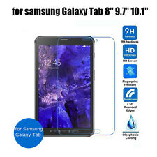 """for Samsung Galaxy Tab Tempered Glass Screen Protector Guard 7"""" 8"""" 9.7"""" 10.1"""""""