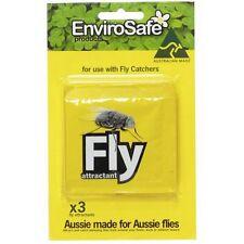 EnviroSafe Fly Trap Attractant Refills (x 3) Food Grade Pesticide Non Toxic
