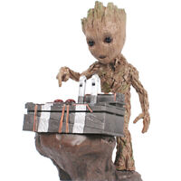 """6.3"""" Cute Groot Guardians Of The Galaxy Vol 2 Pressed Bomb Figure Gift 2020 New"""