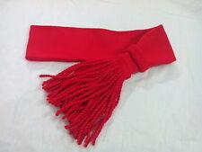"Army Sash Red wool/Sergeants Sgt Red Sash/Uniform Shoulder Sash Red 32"",34"",36"""