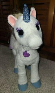FurReal Friends StarLily My Magical Unicorn Plush Interactive Pet