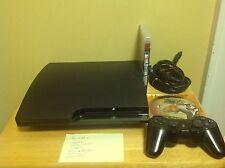 Sony PlayStation 3 Slim Launch 160GB Console Bundle (CECH-2501A) - GTA V++ 5B